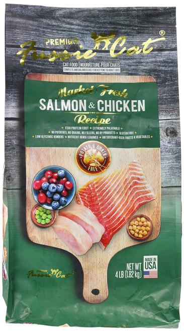 FUSSIE Cat Food Salmon & Chicken (4 lb)
