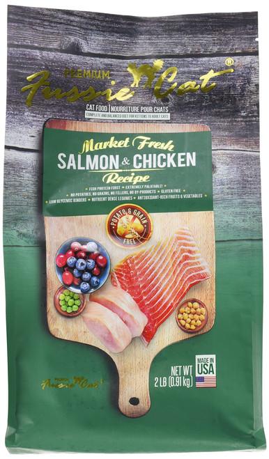 FUSSIE Cat Food Salmon & Chicken (2 lb)