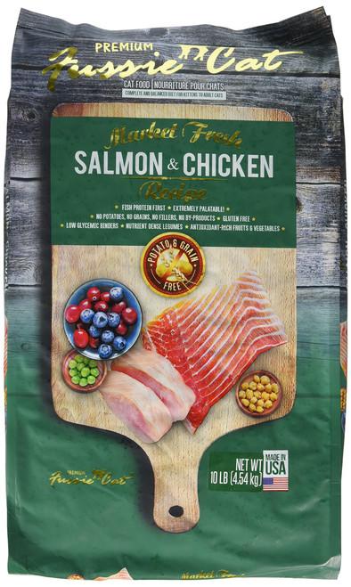 FUSSIE Cat Food Salmon & Chicken (10 lb)