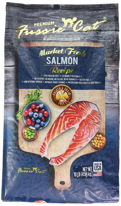 FUSSIE Cat Food Salmon (10 lb)