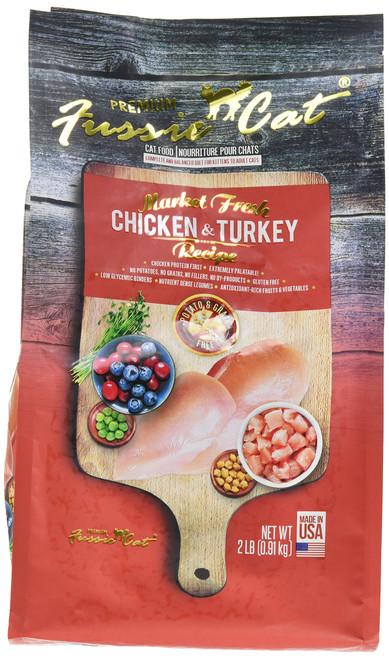 FUSSIE Cat Food Chicken & Turkey (2 lb)