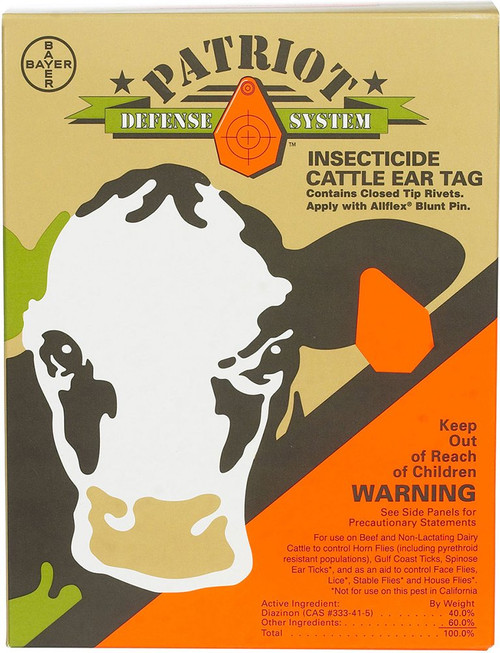 Patriot Insecticide Ear Tags (20 count)