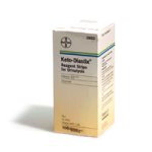 Keto-Diastix Reagent Strips for Urinalysis (100 count)