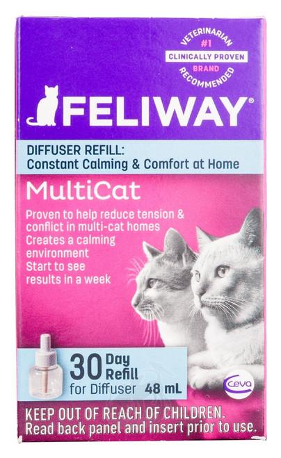 Feliway MultiCat Diffuser 30-Day Refill