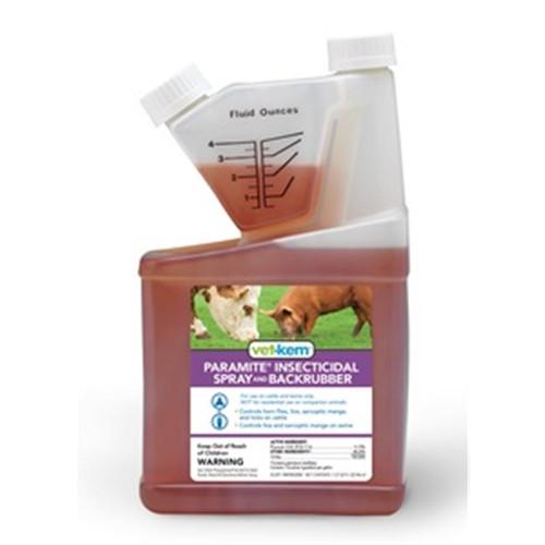 Vet-Kem Paramite Insecticidal Spray and Backrubber (32 oz)