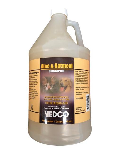 Aloe & Oatmeal Shampoo [Vedco] (1 Gallon)