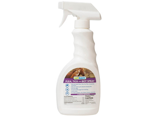 Vet-Kem Flea Tick & Bot Spray (16 oz)