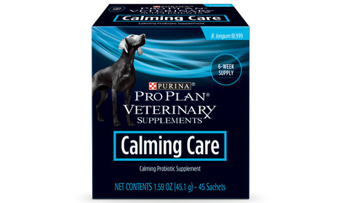Purina Veterinary Calming Care Probiotic for Dogs (45 count)
