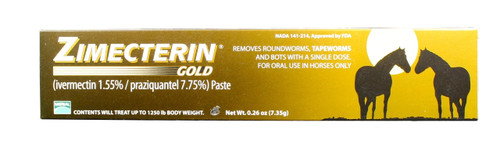 Zimecterin Gold Equine Dewormer (7.35 g)