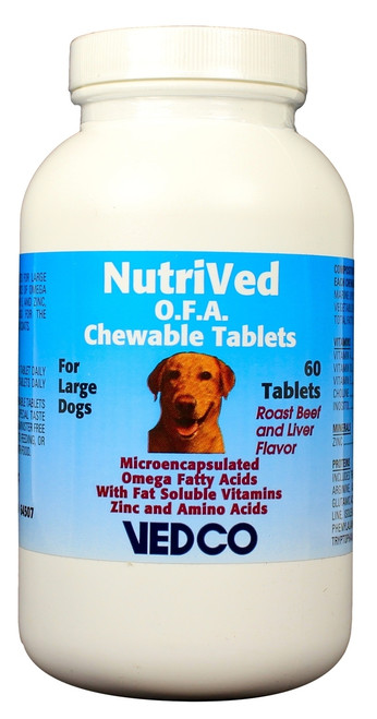 NutriVed OFA Chewable Tablets for Large Dogs (60 count)
