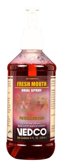 Fresh Mouth Oral Spray [Chlorhex 1%] (8 oz)