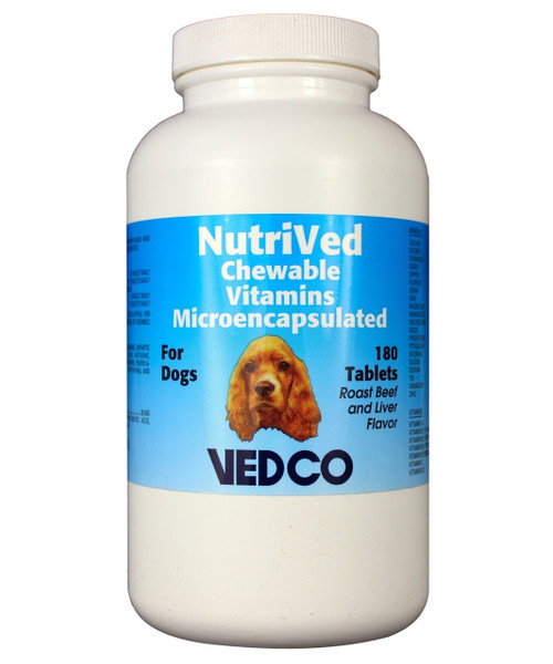 NutriVed Chewable Vitamins for Dogs (180 count)