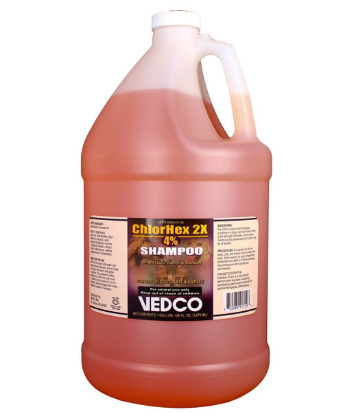 ChlorHex 2X Shampoo Chlorhexidine Gluconate 4% (1 Gallon)