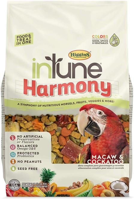 HIG InTune Harmony Macaw (3 lb)