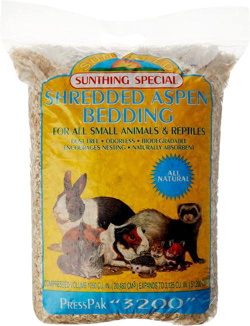 Sunseed Aspen Press Pack (3000 cu in)