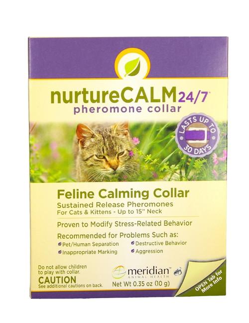"NurtureCALM 24/7 Feline Calming Collar (15"")"