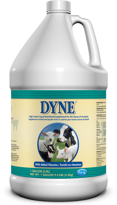 Dyne High Calorie Liquid for Livestock (1 gallon)