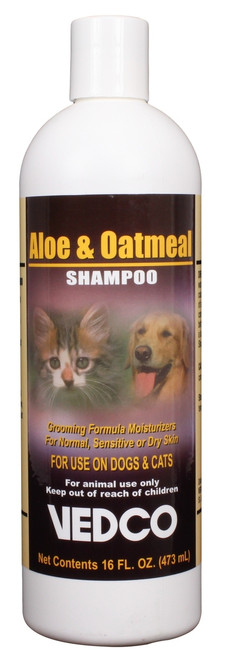 Aloe & Oatmeal Shampoo (16 oz)