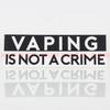 NAVB - Vaping is not a Crime Sticker