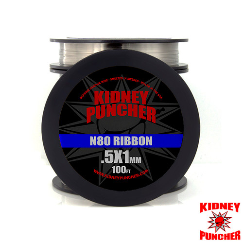 N80 Ribbon Wire 100ft Spool