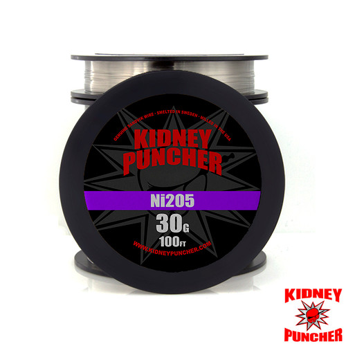 Tempered Ni205 Pure Nickel Wire 100ft Spool