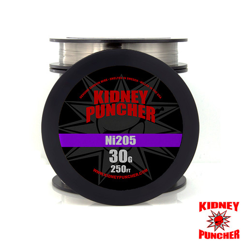 Tempered Ni205 Pure Nickel Wire 250ft Spool