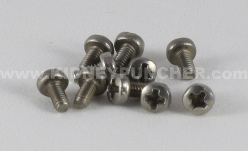 Screws, SS  M2x0.4 HD4