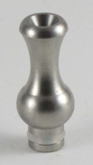 Stainless Steel Ming Drip Tip - Brushed