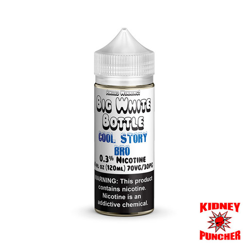 Big White Bottle - Cool Story Bro 120ml