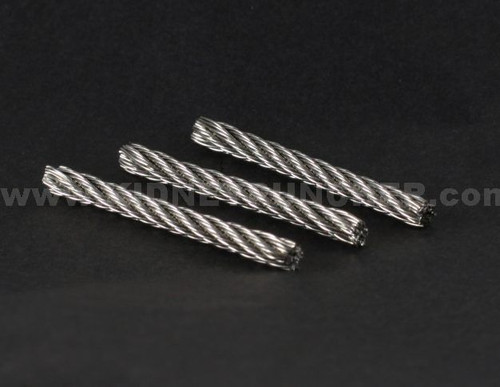 Wire Rope Wick 7x7 1/8 32mm  3 pack