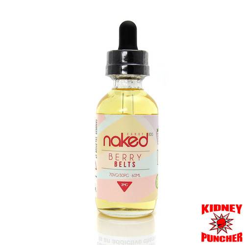Naked 100 - Straw Lime (Berry Belts) 60ml