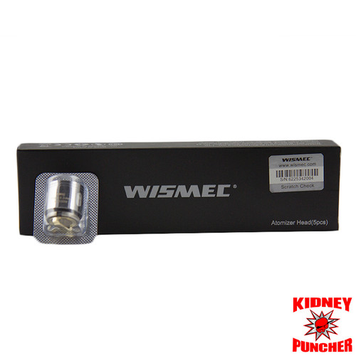 WISMEC Gnome WM Replacement Coils 5pk