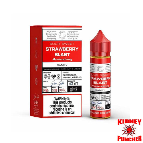 Glas Basix - Strawberry Gummy (Blast) 60ml