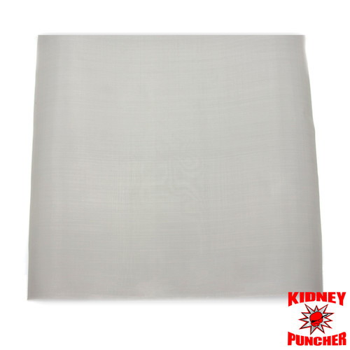 """Sheet of 316 200 Stainless Steel Mesh - 12"""" x 12"""" Square"""