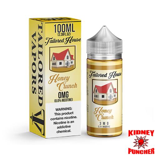 Tailored House E-Liquid - Honey Crunch 100ml