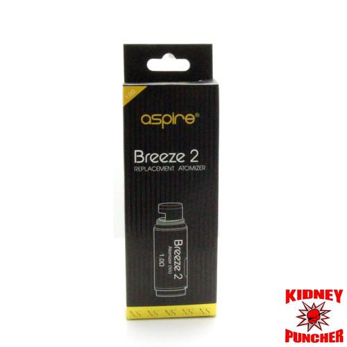 Aspire - Breeze 2 U-Tech Replacement Coils 5pk
