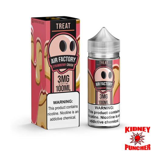 Air Factory Eliquid - Treat - Strawberry Crush 100ml