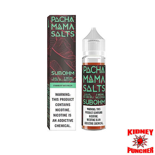 PACHAMAMA Salts - Strawberry Watermelon 60ml