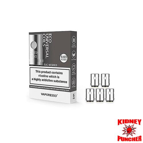 Vaporesso - EUC Replacement Coils  - 5pk