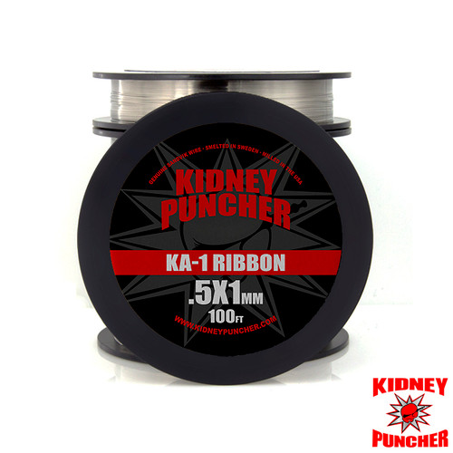 Kanthal A-1 Ribbon Wire 100ft Spool