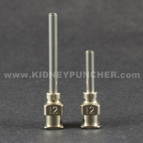 12g Stainless Steel Blunt Tip Luer Lock Needles