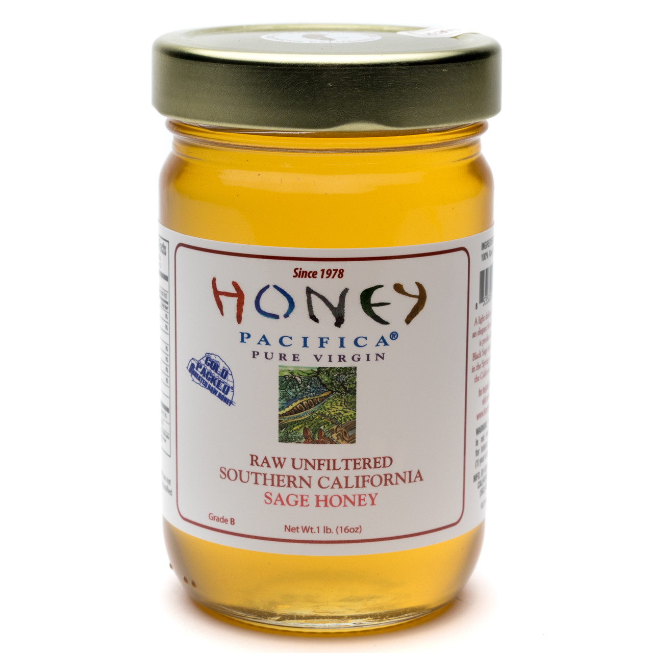 Cold Packed Honey Cases
