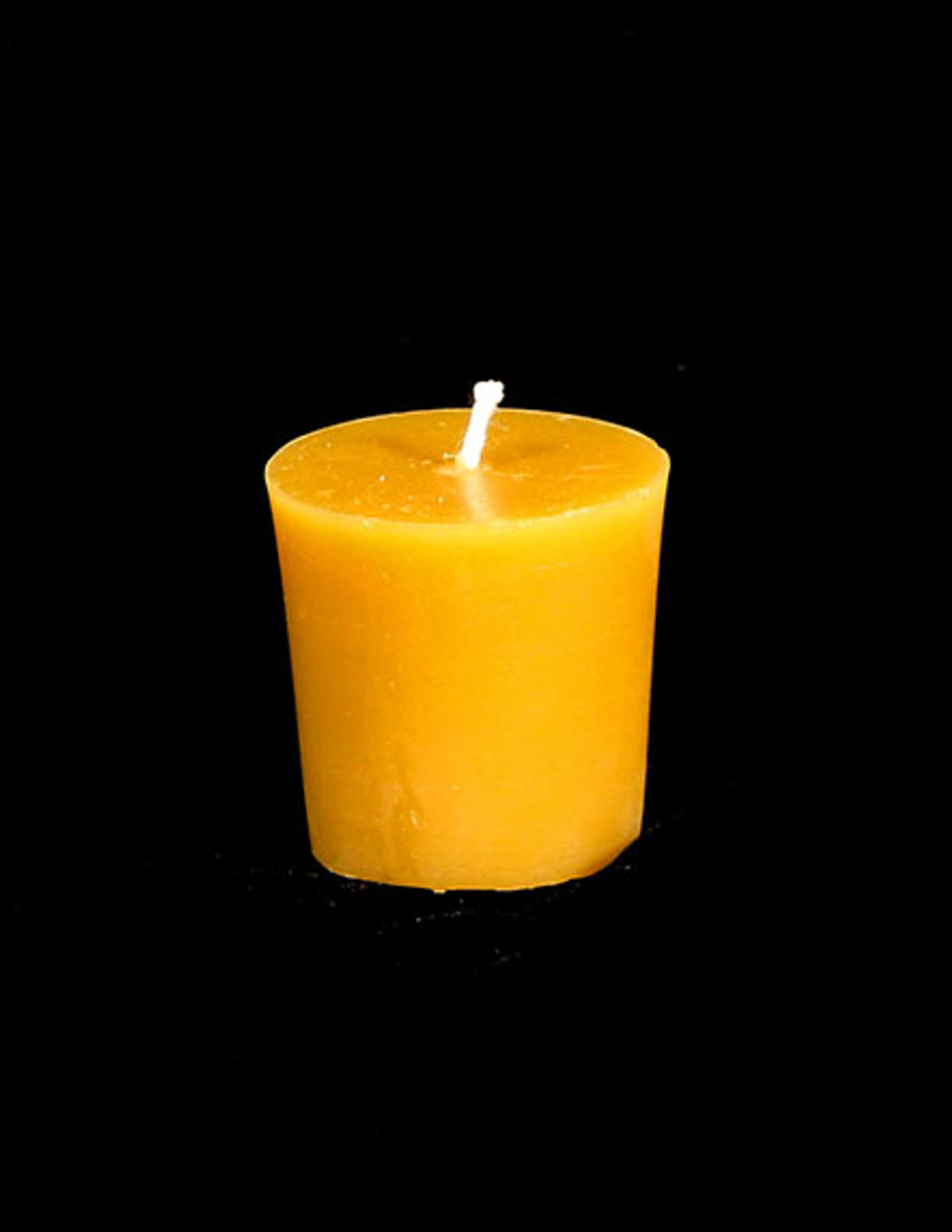 "TWENTY-FOUR Handmade 100/% Pure Beeswax 2/"" Votive Candles Free Shipping"