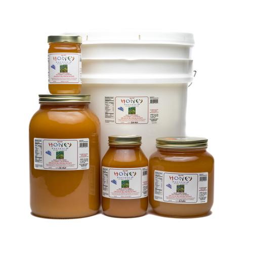 Cold Packed Orange Blossom Honey