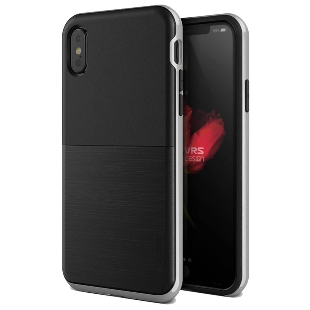 best service a4007 4dee1 VRS Design High Pro Shield iPhone X - Satin Silver