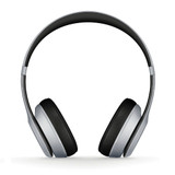 Beats Solo2 Wireless | Silver | Front
