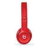 Beats Solo2 Red | Side