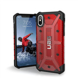 UAG Plasma iPhone X  Case | Magma | Front and Back