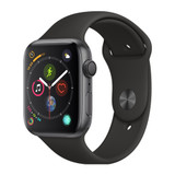 Apple Watch Series 5 GPS, 44 mm Space Grey Aluminium Case with Black Sport Band