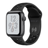 Apple Watch Nike Plus Series 4 GPS, 40mm Space Grey Aluminium Case with Anthracite Nike Sport Band